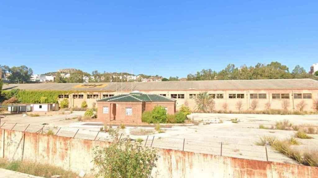 Vista de la vieja fábrica de ladrillos Salyt.