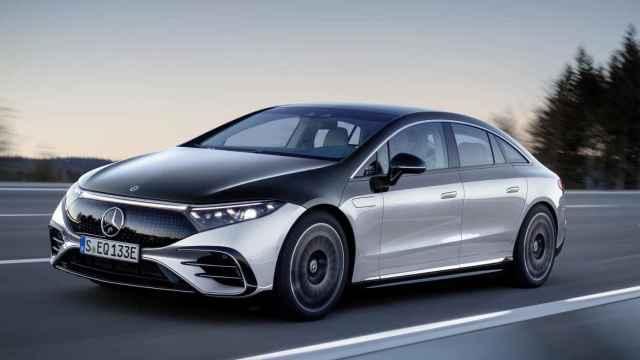 El nuevo Mercedes EQS que llega a final de año.