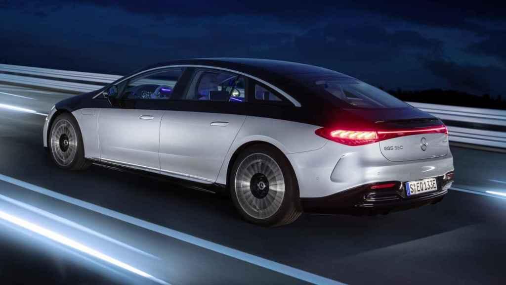 Nuevo Mercedes EQS.