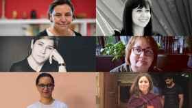 Lula Gómez (Coordinadora), Carla Fibla, Eileen Truax, Laila Abu Shihab, Nuria Tesón y Dolors Rodríguez