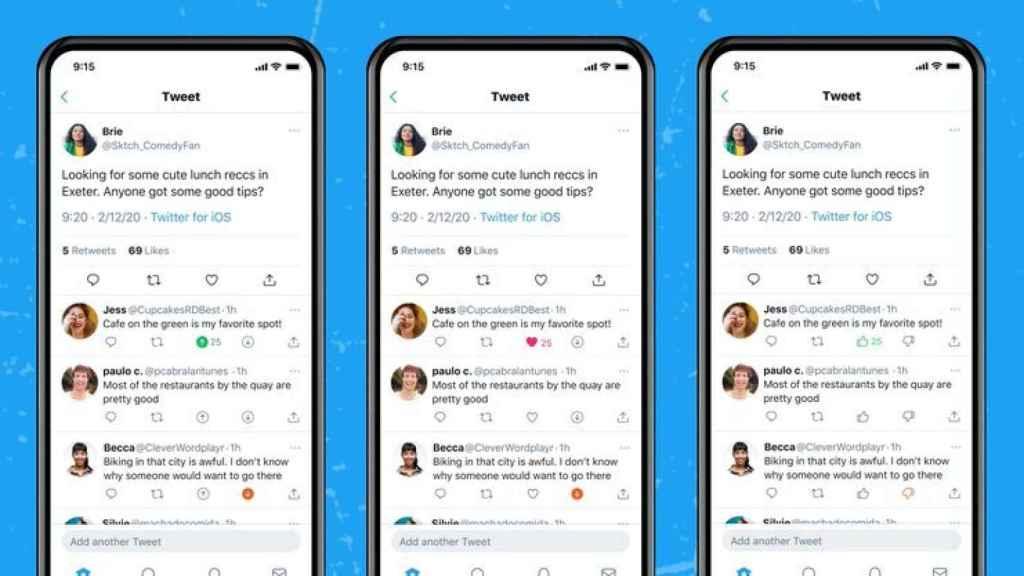 Twitter estrena sistema de votos