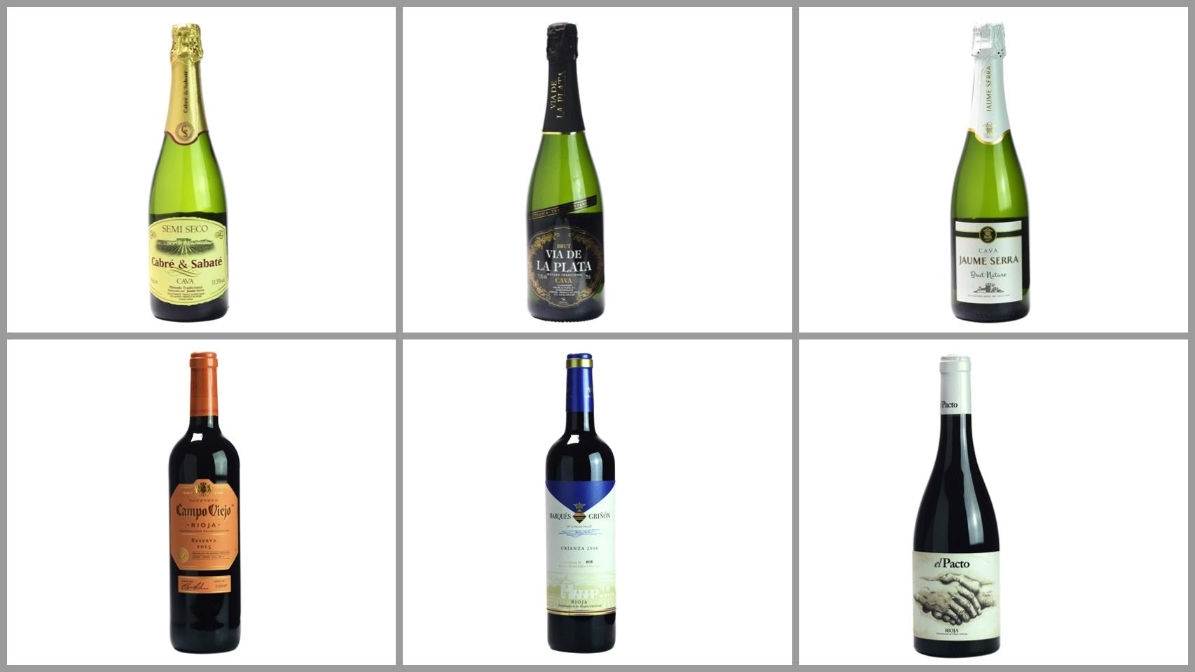 Los 12 mejores vinos según la OCU
