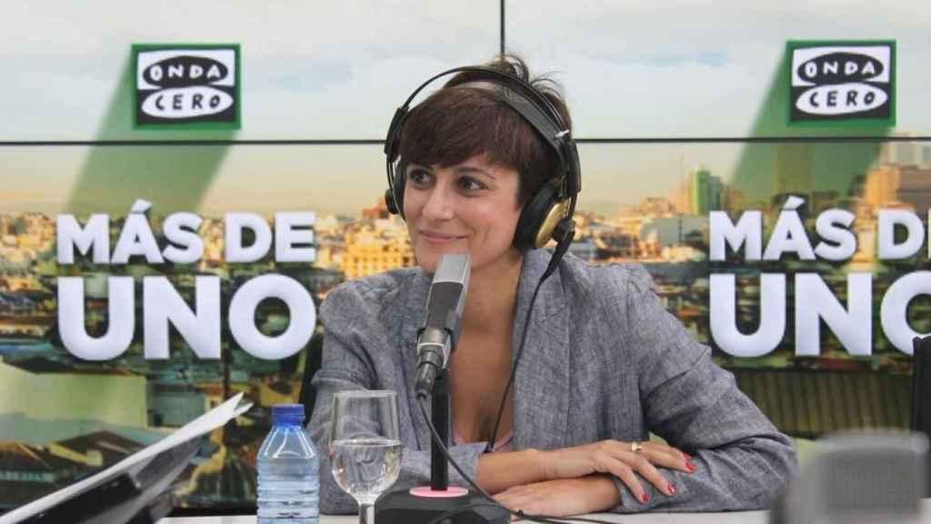 La ministra Isabel Rodríguez este jueves en Onda Cero con Alsina