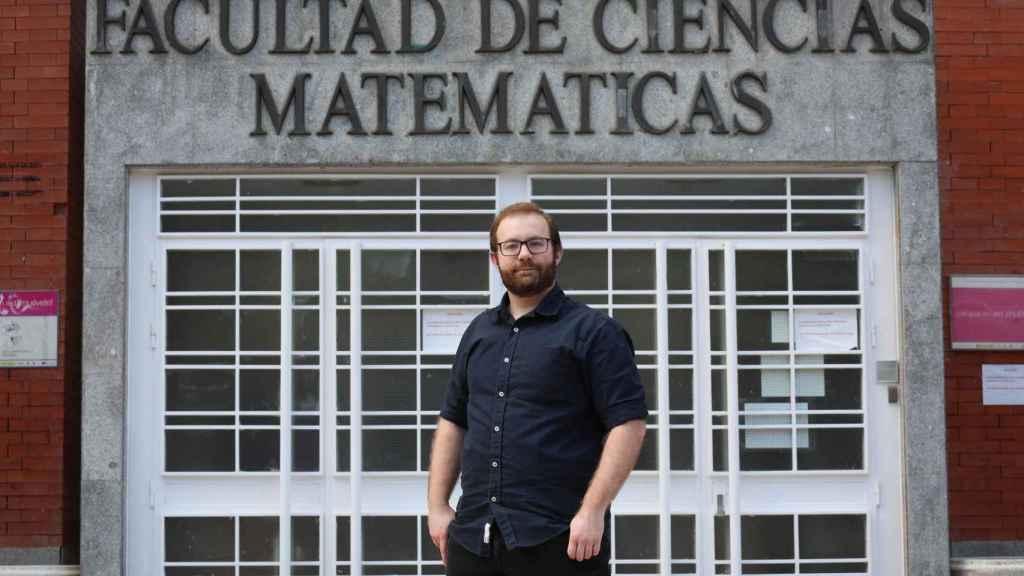 El matemático José Ángel González-Prieto, Premio de Matemáticas Vicent Caselles 2021.