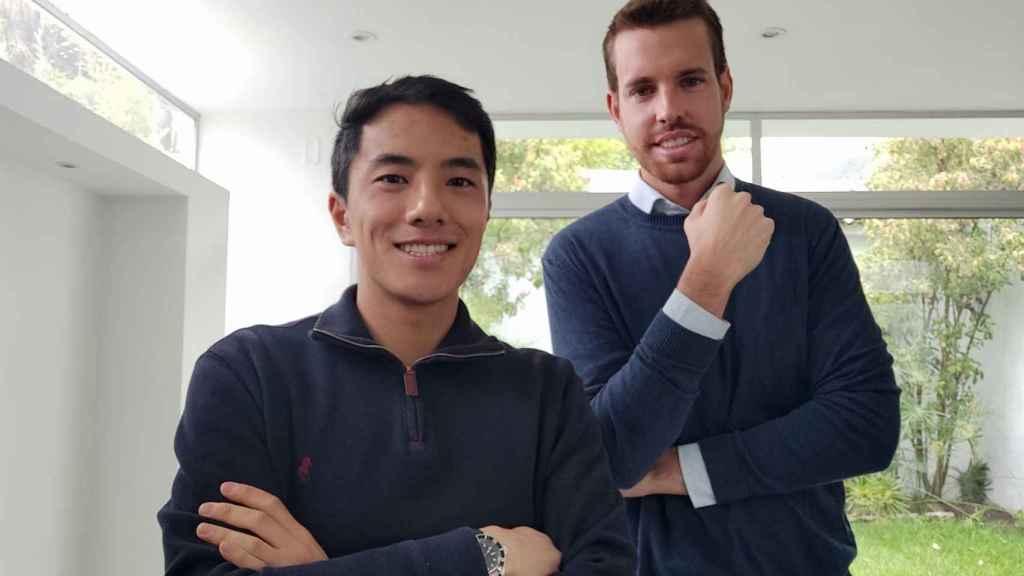 Men Hei Lou y Lluís Cañadell, cofundadores de la startup Treinta