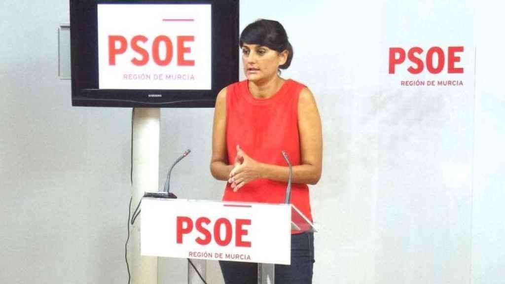 La socialista María González Veracruz.