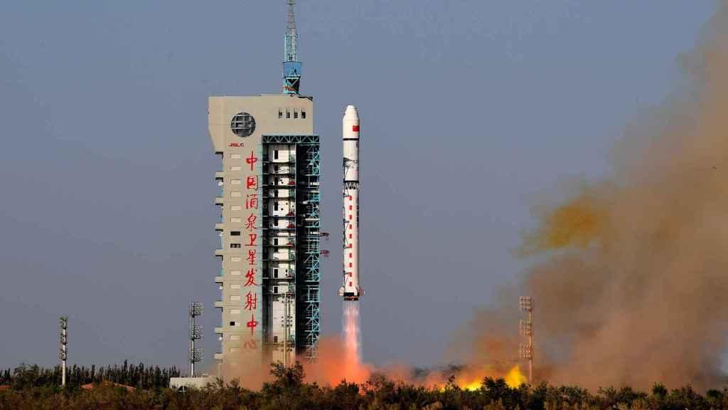Cohete chino Long-March.