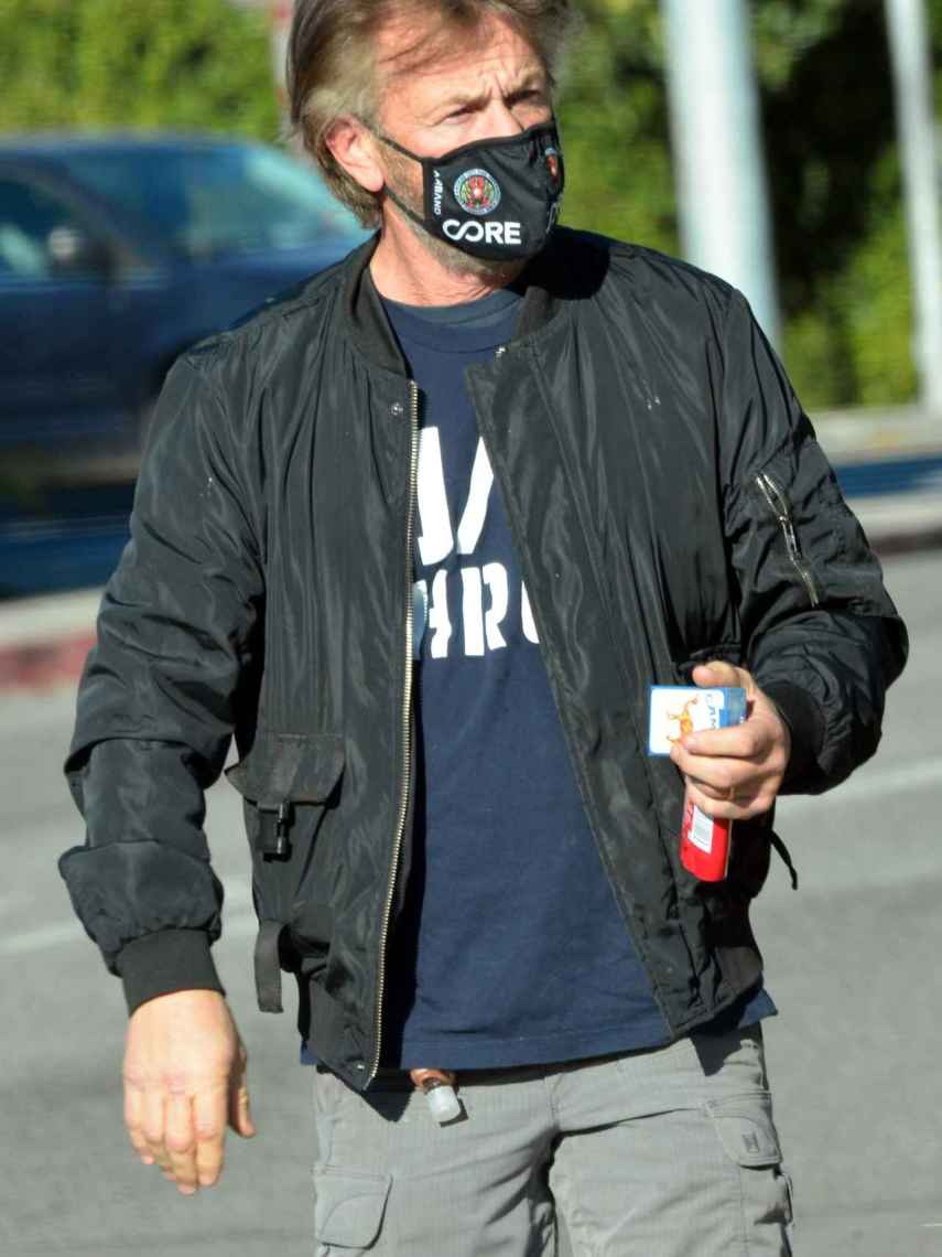 El actor por las calles de Los Ángeles.