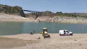 El pago de Iberdrola a Zamora: el embalse de Ricobayo casi vacío en plena temporada estival 2