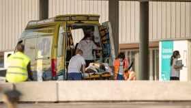 Ingresos hospitalarios durante la quinta ola de la Covid. EFE/ Eliseo Trigo