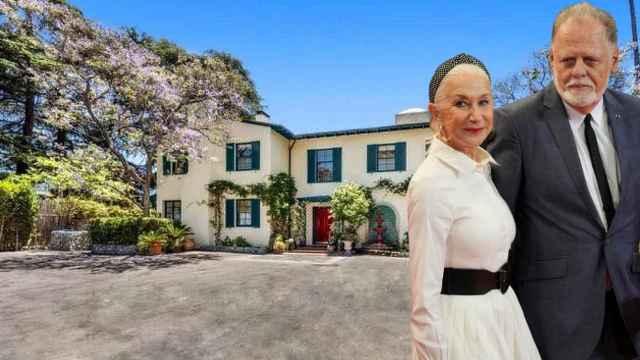 Así es la casa de estilo español que Hellen Mirren y su marido quieren vender (o alquilar)