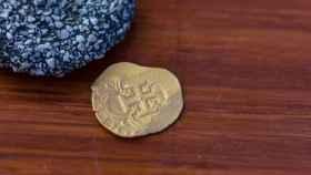Moneda del galeón español.