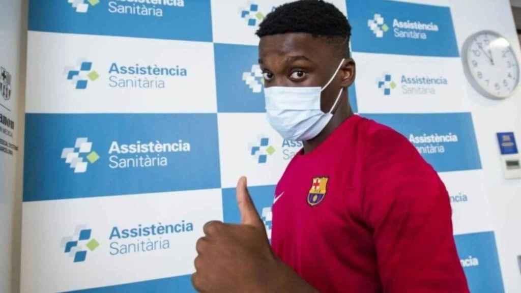 Ilaix Moriba arranca la pretemporada con el Barça B