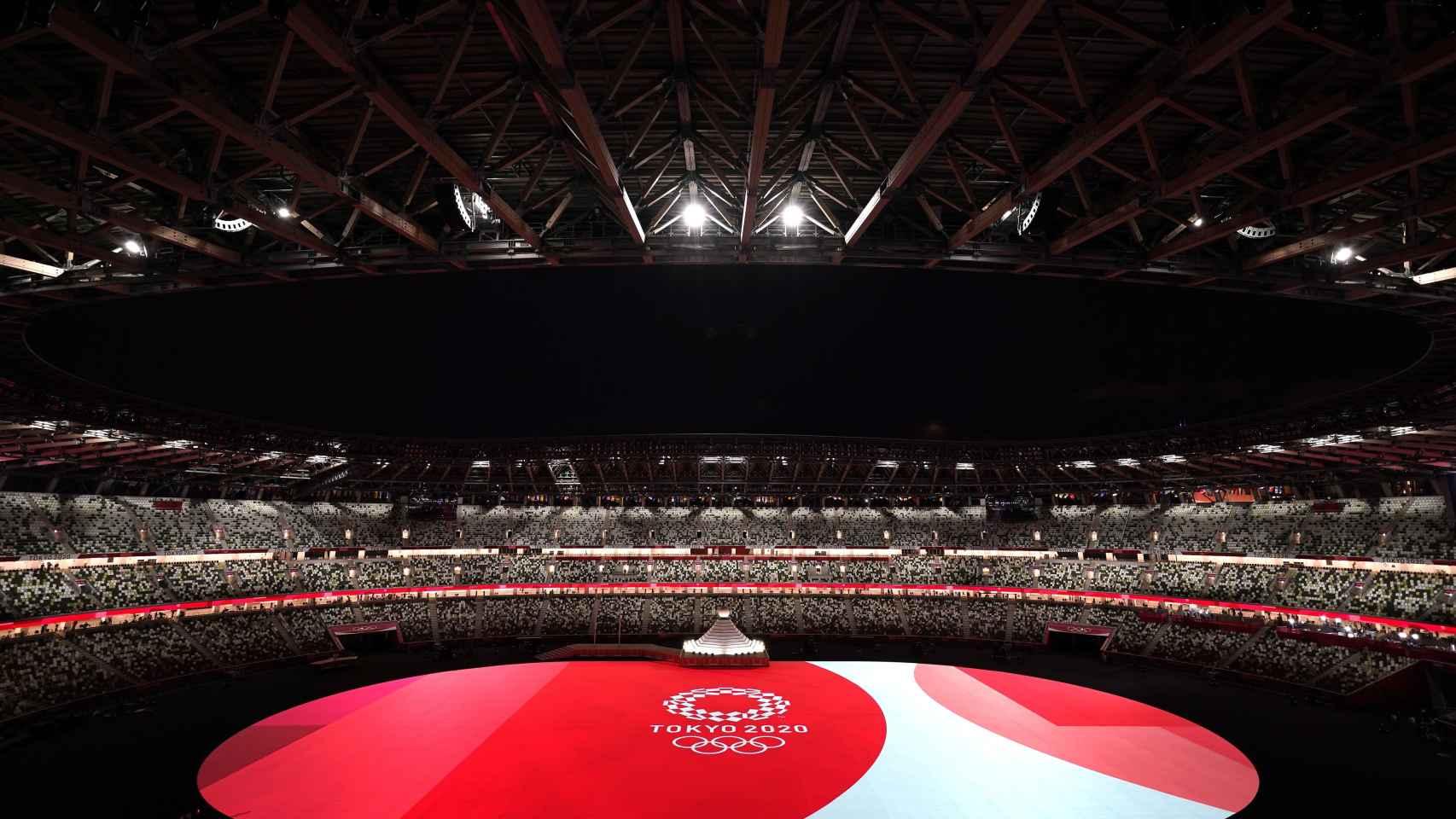 El Estadio Nacional de Tokio en la inauguración de los JJOO