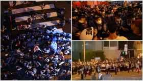 Protestas en la inauguración de los Juegos Olímpicos