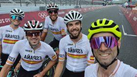 Valverde a la cabeza del equipo español de ciclismo para los JJOO
