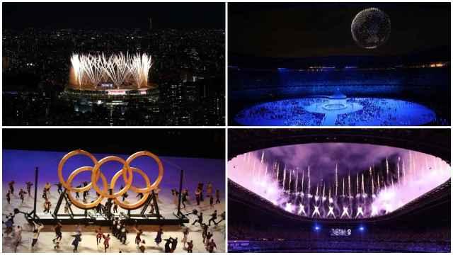 Los mejores momentos de la ceremonia de apertura de los JJOO de Tokio: de la 'nube' de drones al encendido del pebetero