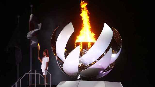 Naomi Osaka, último relevo de la antorcha olímpica y encargada de encender el pebetero