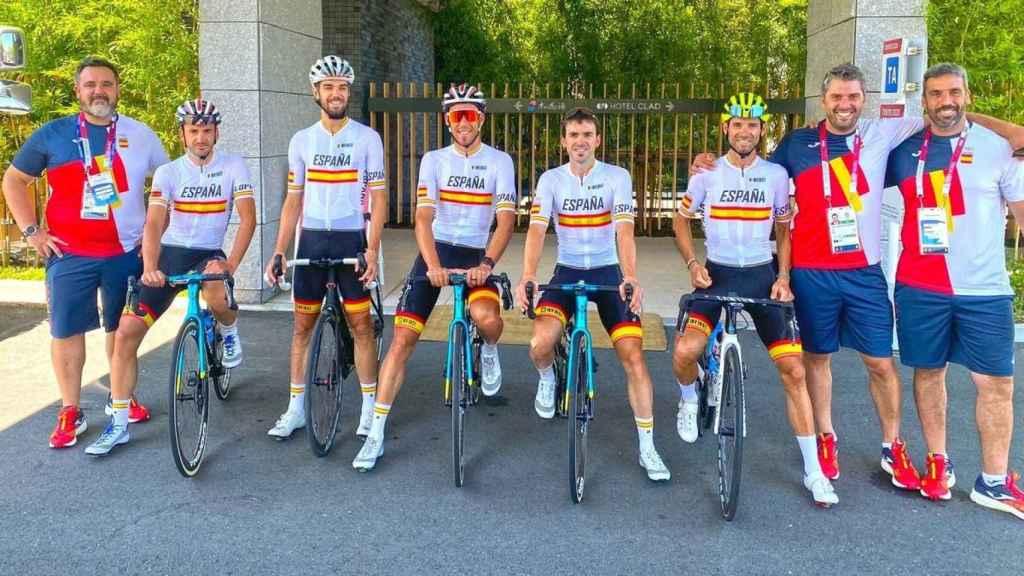 Equipo ciclista de España para los Juegos Olímpicos