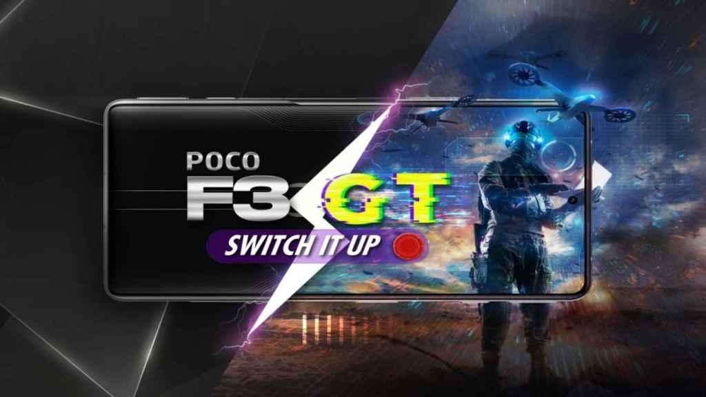 Nuevo POCO F3 GT: el primer smartphone gaming de POCO