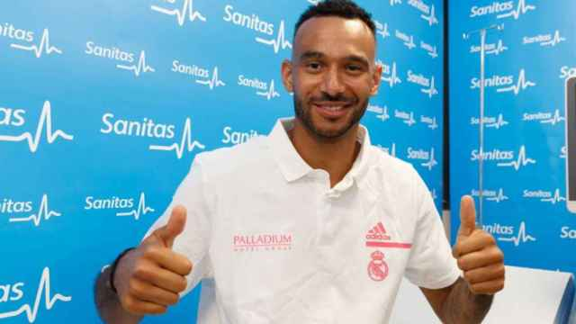 Hanga pasa reconocimiento médico con el Real Madrid