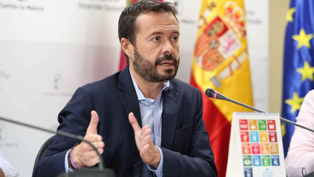 El consejero José Luis Escudero, en una imagen de este viernes. Foto: Óscar Huertas