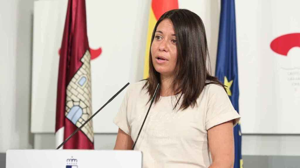 Bárbara García, consejera de Bienestar Social del Gobierno de Castilla-La Mancha