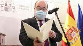 Miquel Iceta, ministro de Cultura y Deporte del Gobierno de España