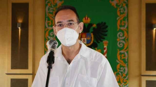 Foto Portavoz declaraciones Pleno 23 julio 2021