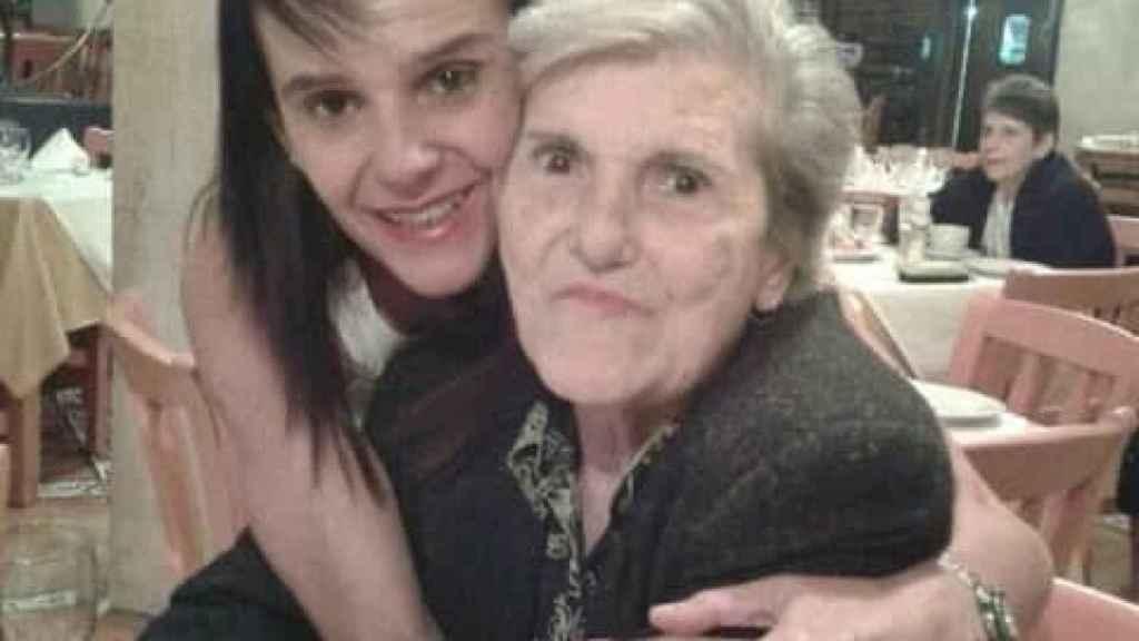 Marisa Vidal y su madre, que nació en Oviedo pero emigró a Venezuela con 17 años durante la Guerra Civil.