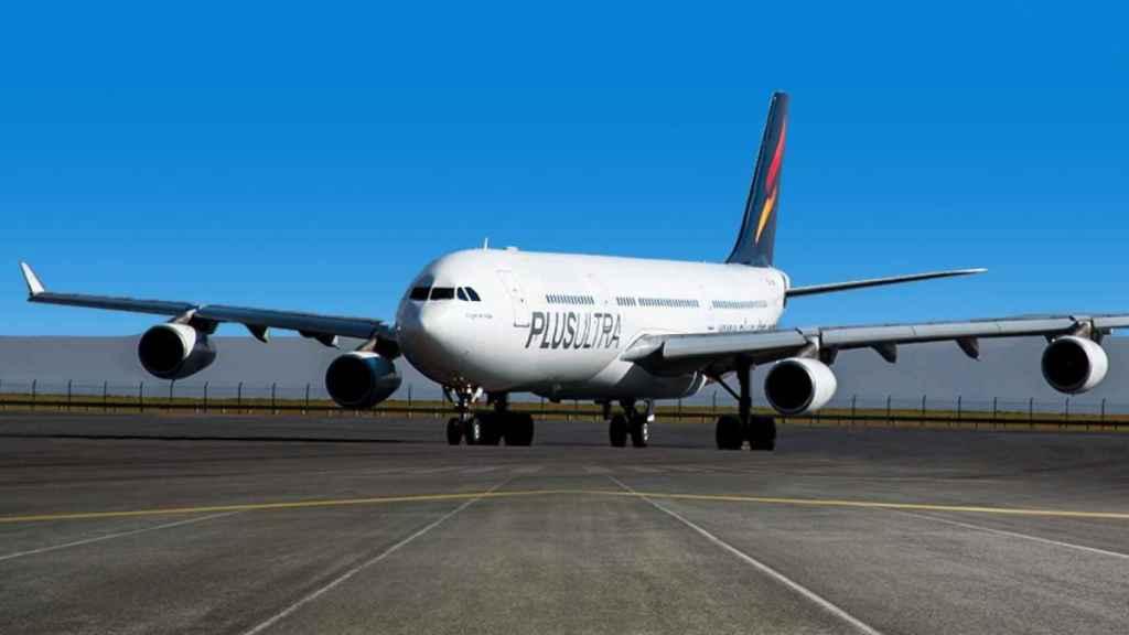 Un avión de Plus Ultra en imagen de archivo.