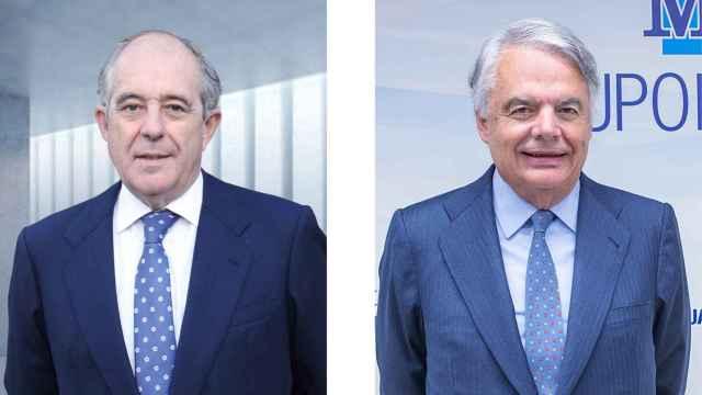 Emilio Soroa (Orienta Capital) e Ignacio Garralda (Mutua Madrileña).