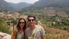 Isidro y su pareja María, antes de que sucedieran los hechos que le han arruinado la vida.