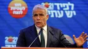 El moderado Yair Lapid, principal rival del primer ministro saliente, Benjamin Netanyahu.