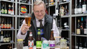 Las cuatro cervezas probadas por Carlos Gómez, analista sensorial y profesor de la Escuela Española de Cata.