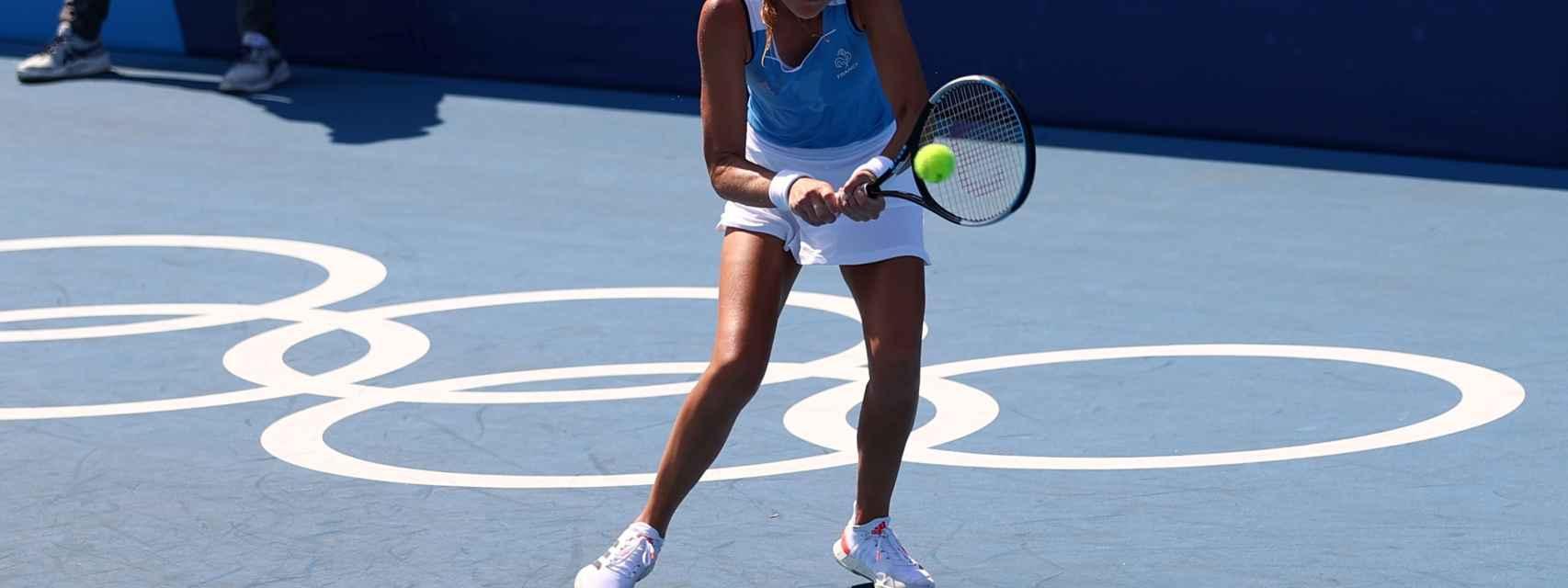 Paula Badosa, en los Juegos Olímpicos
