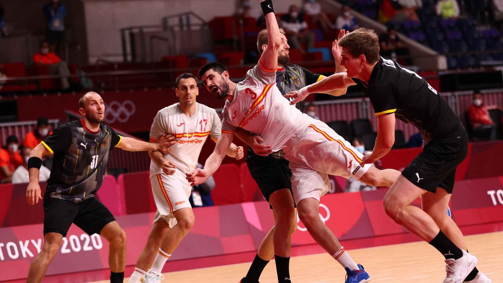 Raúl Entrerrios, durante los Juegos Olímpicos