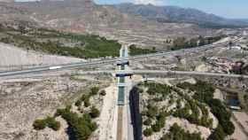 El Trasvase Tajo-Segura a su paso por el término municipal de Lorca.