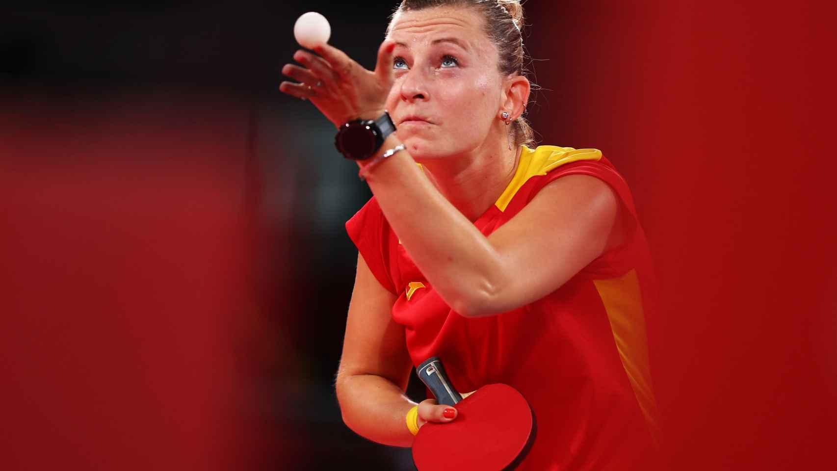 Galia Dvorak, en los Juegos Olímpicos