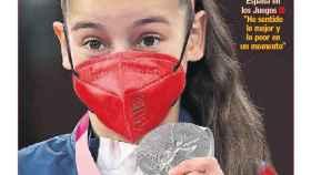 La portada del diario AS (25/07/2021)