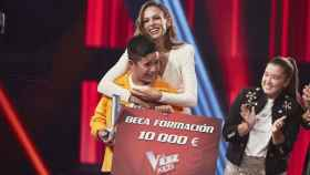 Levi Díaz, del equipo de Melendi, se proclama ganador de la sexta edición de 'La Voz Kids'