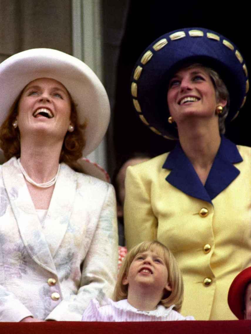 Sarah Ferguson y Lady Di, en una imagen de archivo.