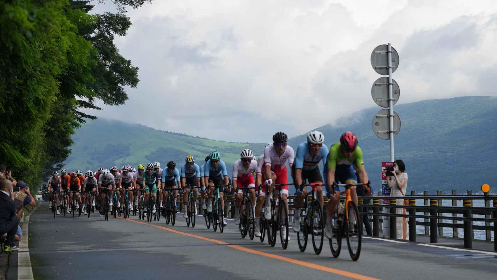 Prueba de ciclismo en ruta de los JJOO de Tokio 2020