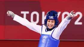 Adriana Cerezo, durante los Juegos Olímpicos