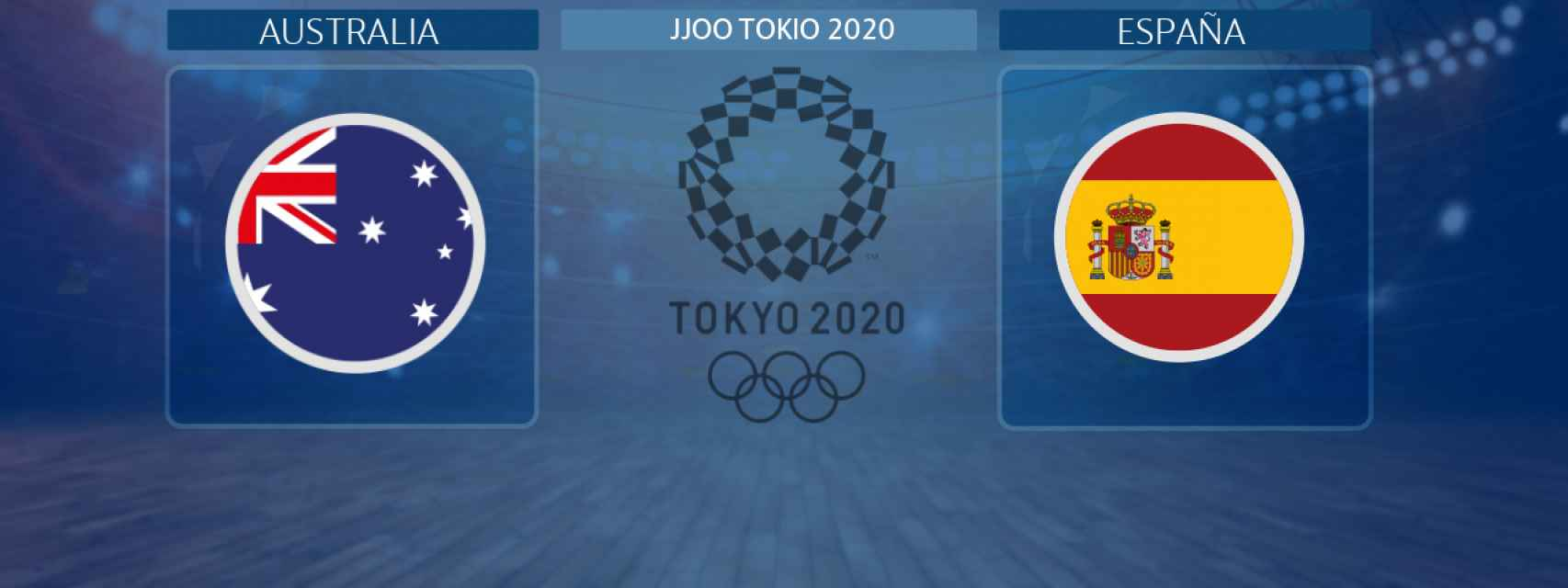 Australia - España, partido de los JJOO de Tokio 2020