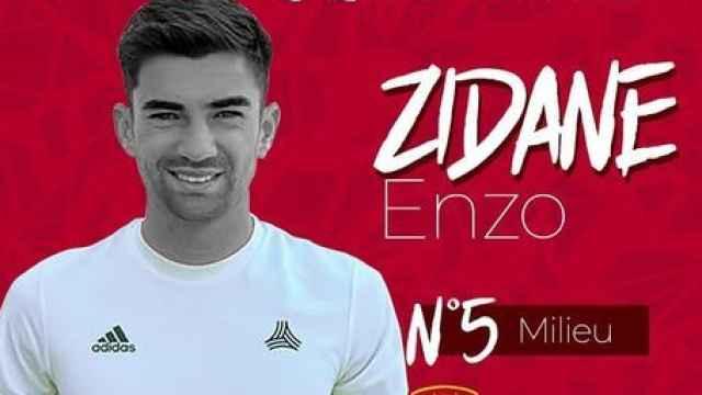 Enzo Zidane, nuevo futbolista del Rodez Aveyron Football