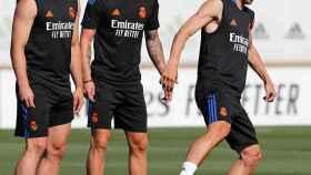Jovic, Kroos y Modric