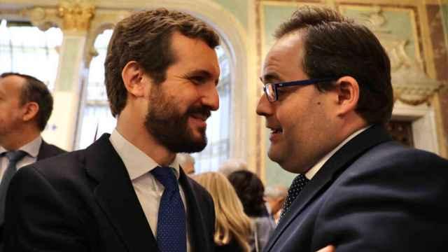 Pablo Casado y Paco Núñez