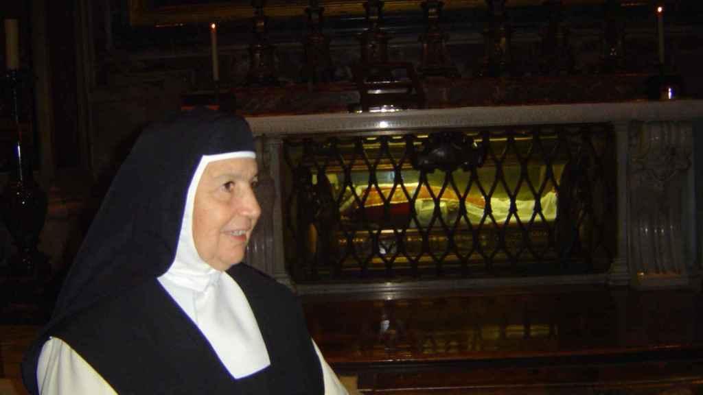 Madre Rosa Barbacho, del Monasterio de las Madres Bernardas de Talavera