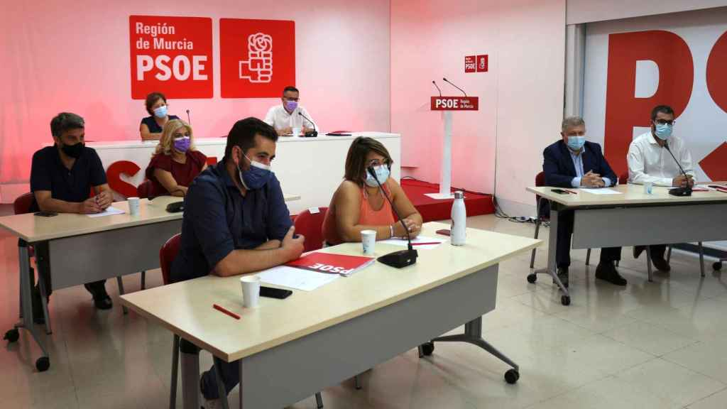 Último comité regional del PSOE del que se han filtrado audios.